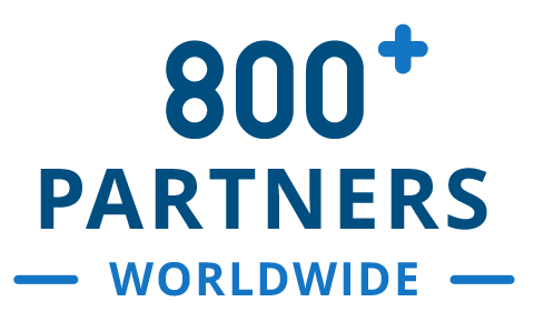 800+ Partners Worldwide